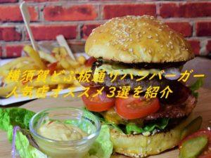横須賀どぶ板通りハンバーガー人気店オススメ3選を紹介